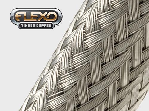 Gaine Tressée en Cuivre Etamé Flexo® Tinned Copper